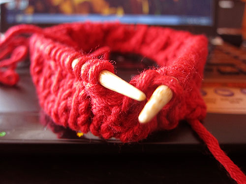 the start of a red hat