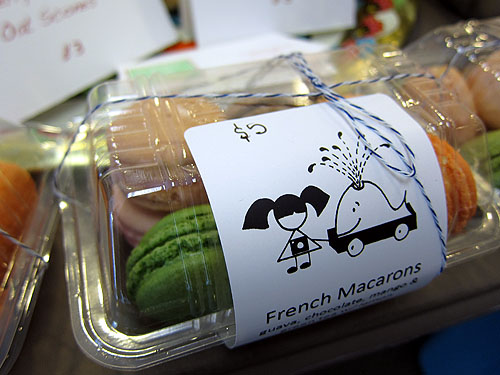 [pretty packaging at the Seattle Bakesale for Japan]
