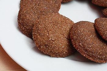not martha — Sparkling Chewy Molasses Cookies