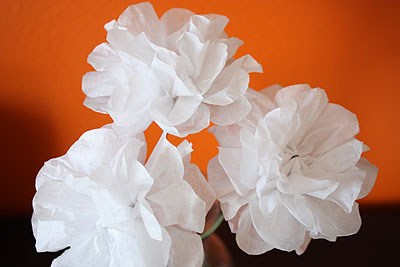 Not martha simple and charming tissue paper flowers tissue paper flowers mightylinksfo