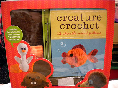 Creature Crochet book by Kristen Rask