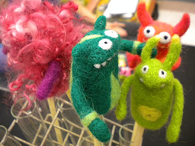 Made by Moxie fingerpuppets!