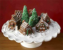 Snowy Village Cakelet pan from Williams Sonoma