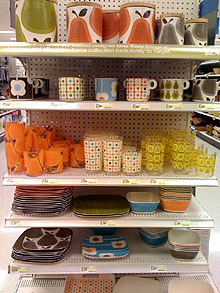 Orla Kiely goods at Target