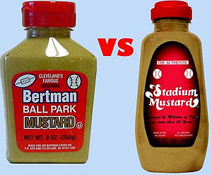 stadium mustard vs. ballpark mustard