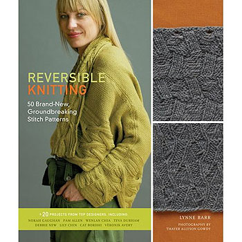 Reversible Knitting pattern book