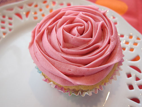 [a beautifully decorated cupcake]