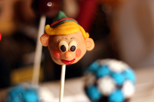 Christmas Dentist Elf.Not Martha Gluten Free Christmas Cake Pop Afternoon
