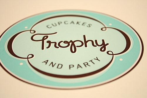 Trophy Cupcakes sticker