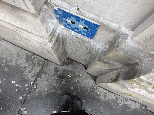 Space Invader mural spotting #4