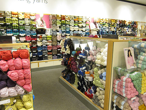 yarn at John Lewis