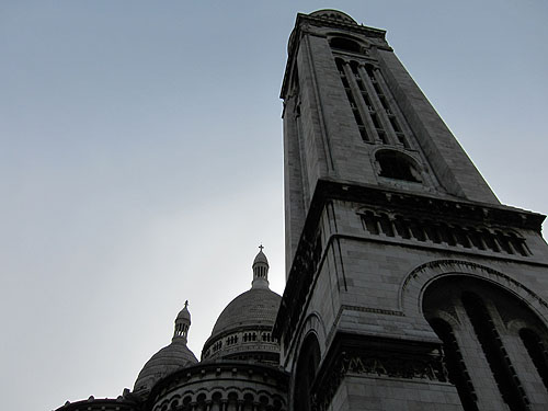 Sacre-Coeur and the sky