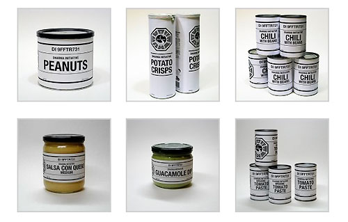 Dharma Initiative food labels
