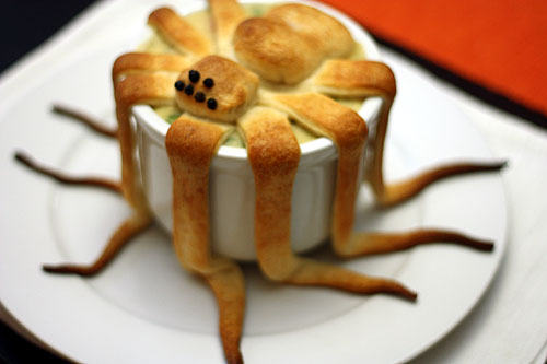 spider pot pie