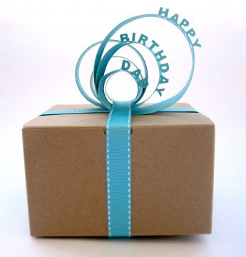 MSL Gift Paper Topper Reading HAPPY BIRTHDAY DAD
