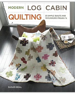 Modern Log Cabin Quilting book cover