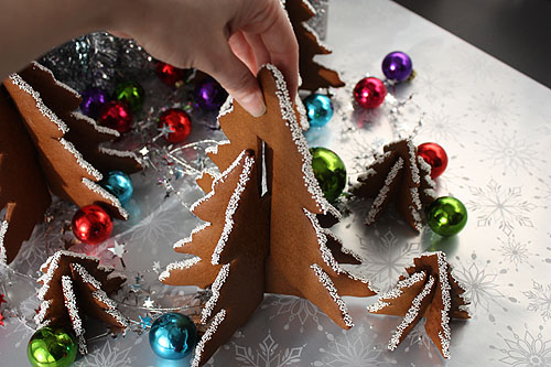 not martha — 3D Christmas Tree Gingerbread Cookies