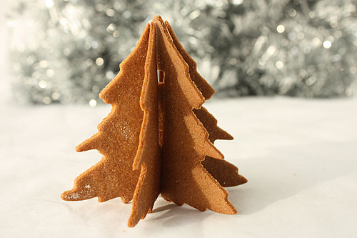 Not Martha 3d Christmas Tree Gingerbread Cookies The Outtakes