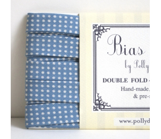 Polly Danger polka dotted bias tape