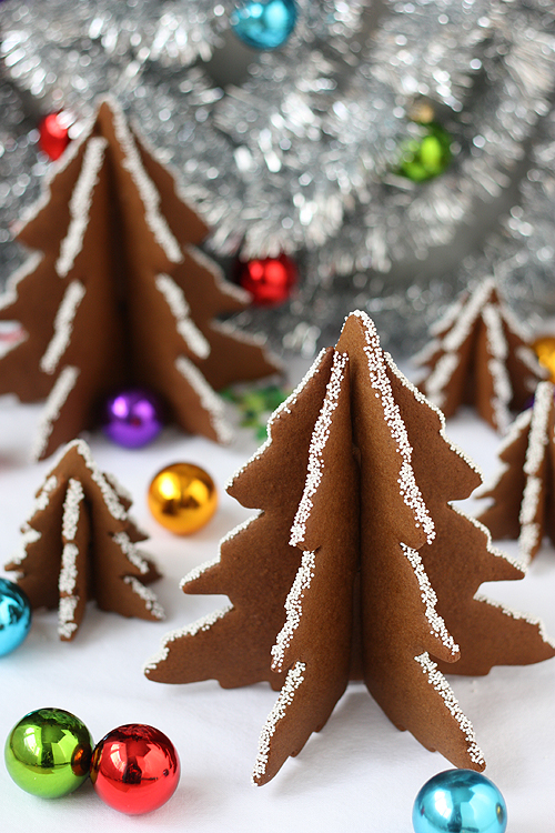 Not Martha 3d Christmas Tree Gingerbread Cookies
