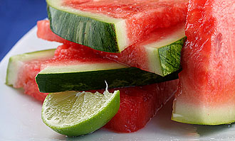 Tequila soaked watermelon wedges from Recipe Girl , and maybe add a ...