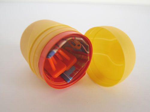 kinder surprise toy instructions