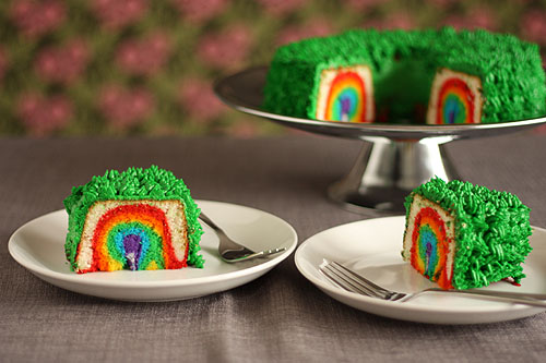 the original rainbow cake