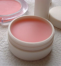 finished pot of lip balm